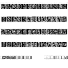 Behrens Antiqua Initialen Regular Font