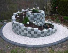 Kräuterspirale Garten,Mauern,Stein,Gartengestaltung,Bepflanzung
