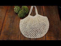YouTube Crochet Bag Tutorials, Crochet Patterns, Crochet Quilt, Knit Crochet, Crochet Market Bag, Craft Bags, Crochet Handbags, Loom Knitting, Purses And Bags