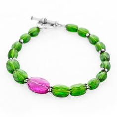 Green with Envy Bracelet | Fusion Beads Inspiration Gallery