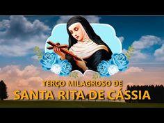 Sta Rita, St Rita Of Cascia, Prayers, Movie Posters, Youtube, Saints, Chakra Meditation, Pictures Of Christ, Good Night Msg