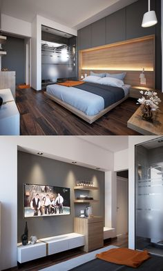 Modern Bedroom Ideas - Trying to find the very best bedroom design ideas? Utilize these attractive modern bedroom ideas as motivation for your own remarkable designing system . Bedroom Wall Designs, Modern Master Bedroom, Modern Bedroom Design, Bedroom Layouts, Master Bedroom Design, Trendy Bedroom, Contemporary Bedroom, Home Bedroom, Bedroom Decor