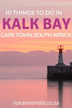 Want to explore the vibrant fishing village of Kalk Bay Cape Town? Find out the best things to do in Kalk Bay South Africa. Discover Kalk Bay Harbour Kalk Bay restaurants Kalk Bay Books Kalk Bay Theatre Olympia Café Kalk Bay Brass Bell Kalk Bay Ca Cape Town Tourism, Stuff To Do, Things To Do, Africa Destinations, Fishing Villages, Beautiful Places To Visit, Travel Inspiration, Travel Ideas, Travel Tips