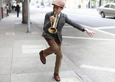 Very dapper and amazingly talented. Read more and catch the video here: http://bit.ly/ydj2I6