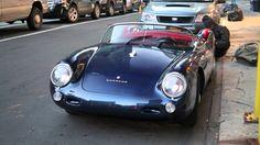 Simply Stunning - Check Our This Porsche 550 Spyder in NYC - Parked, Start Up, Acceleration #Porsche550Spyder