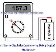 In Most Electrical and Electronics troubleshooting and repairing, we face this trouble that how to check a capacitor? Is it Good, Bad (dead) Short or Open? Here, we can check this with Analog (AVO Meter i.e. Ampere, Voltage, Ohm meter) Note: To find the Value of Capacitance, you need a Digital meter with Capacitance measuring features. Below are four (4) methods to check that a Capacitor is Good, Bad, Open, Dead, or Short.
