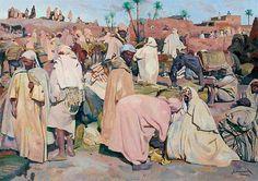 Rêver ed Marchands et Commerçants - Singification - Les marchands de datte ©Majorelle - 1859-1926