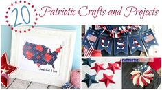 20 Patriotic Crafts and Projects -The Crafty Blog Stalker - Featured at the Home Matters Linky Party 136