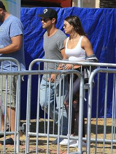 Taylor Lautner enjoys a day off with a pretty brunette companion