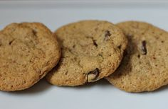 eNourishment: Almond Chocolate Chip Cookies