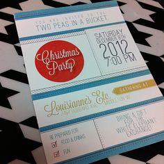 Invitation design idea