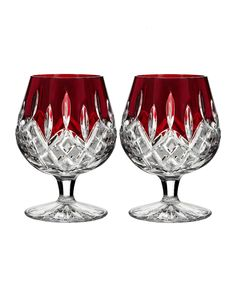 Waterford Lismore Brandy Glasses, Set of 2