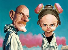 Breaking Bad caricaturesfdhbtejhgfhfr