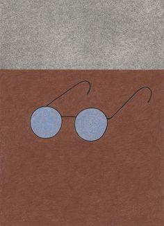 Old glasses. Yoko Nakajima.
