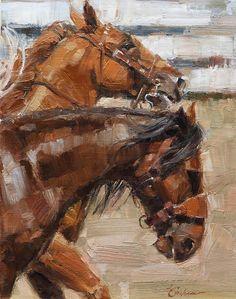 Bronc Pick Up by Lindsey Bittner Graham, Oil, 12 x 9 Watercolor Horse, Watercolor Animals, Animal Paintings, Horse Paintings, Pastel Paintings, Horse Artwork, Art Terms, Cowboy Art, Equine Art