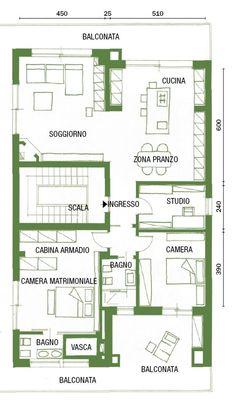 Piantina casa 100 mq case unifamiliari nel 2019 house for Piantine case