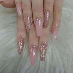 Give style to your nails by using nail art designs. Donned by fashion-forward personalities, these nail designs can incorporate instant glamour to your outfit. Almond Acrylic Nails, Best Acrylic Nails, Acrylic Summer Nails Coffin, Acrylic Nail Designs Coffin, Coffin Acrylics, Pink Acrylics, Acrylic Nail Art, Cute Nails, Pretty Nails