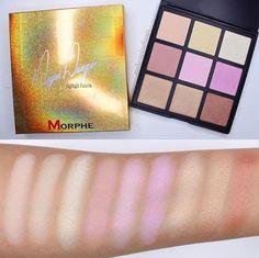 Highlight palette @morphe brushes