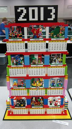 Bricklink is the world's largest online marketplace to buy and sell LEGO parts, Minifigs and sets, both new or used. Search the complete LEGO catalog & Create your own Bricklink store. Lego Calendar, Calendar Ideas, Cool Lego, Cool Toys, Lego Sculptures, Lego Girls, Lego Boards, Lego Club, Lego Design