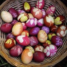 Красиви идеи за великденски яйца