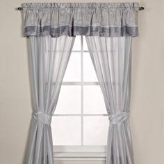 Manor Hill® Haven Window Treatment Set - BedBathandBeyond.com