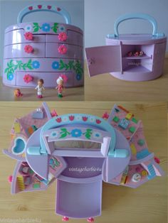 1991 Polly Pocket Pullout Playhouse