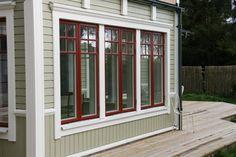 New Homes, Summer House, Scandinavian Home, Exterior Design, Beautiful Doors, Swedish House, House Painting, House Paint Exterior, House Exterior