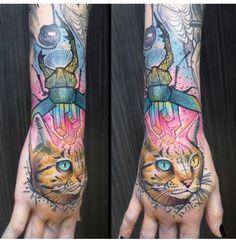 Schwein Elschwino tattoo