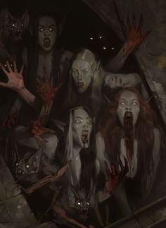 Want to discover art related to vampire? Check out inspiring examples of vampire artwork on DeviantArt, and get inspired by our community of talented artists. Gothic Horror, Arte Horror, Gothic Art, Dark Fantasy Art, Fantasy Kunst, Fantasy Girl, Art Vampire, Gothic Vampire, Art Sinistre