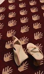 Modern Collection, Modern- Montage Palm DesignCC-5475.3 Feet X 3 Feet 1 Inch