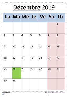 Une version simple du calendrier scolaire 2019-2020 pour un affichage en classe. Periodic Table, School, Simple, Back To School, Nursery School, Billboard, Periodic Table Chart, Periotic Table