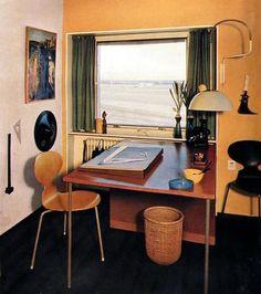 Interior 50s, 60s.