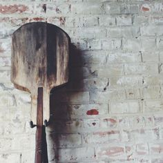 wooden pizza paddle | the allure of everyday occurrences