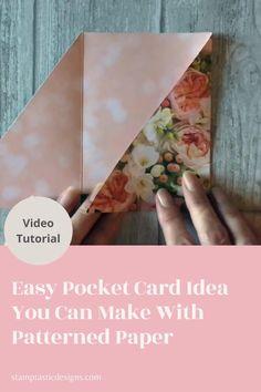 Card Making Templates, Card Making Tutorials, Card Making Techniques, Card Making Tips, Handmade Birthday Cards, Greeting Cards Handmade, Unique Birthday Cards, Fancy Fold Cards, Folded Cards