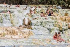 kleiner nacktmull posted a photo:  Le cascate del Mulino, Terme di Saturnia (Tuscany, Italy)
