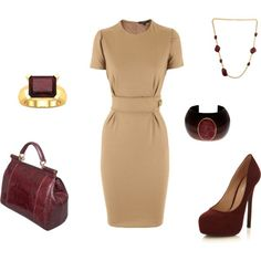 """Burgundy"" by jennifer-gray on Polyvore"