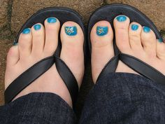 Picture Of Toe Nail Design
