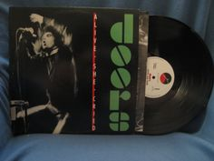 RARE Vintage The Doors  Alive She Cried Vinyl LP by sweetleafvinyl, $13.99
