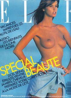 Elle MacPherson  -  Elle France May 1987 by Gilles Bensimon