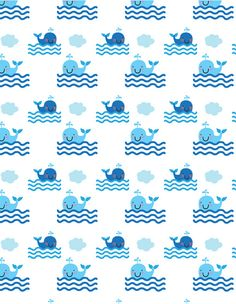 whale pattern | Flickr - Photo Sharing!