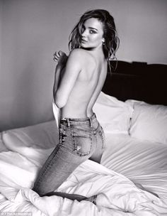 Miranda Kerr gets cheeky for 7 For All Mankind http://dailym.ai/1o98fq6