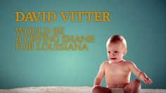 An attack ad against Louisiana Senator David Vitter makes a not-so-subtle reference to his diaper fetish, which was revealed during his 2010 prostitution scandal.