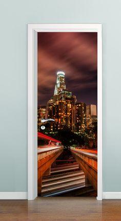 Porta com profundidade ( Night Gate 01) à partir de R$ 99,00  *Solicite uma imagem para sua porta, criamos ela pra você!!!