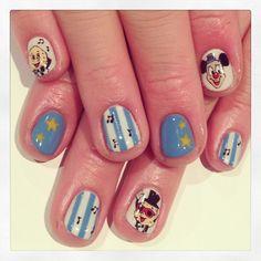 Strange circus nails #avarice #art #kayo #design #nails #nailart #nailsalon #circus #potato (NailSalon AVARICE)