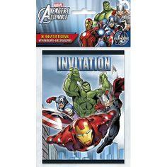Marvel's Avengers Invitations [8 Per Package] | 30333865 | $3.99