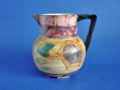 Shorter and Son 'Basra' Art Deco Jug by Mabel Leigh c1935