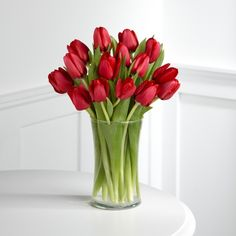 #Red #Beautiful #Flowers #Tulips