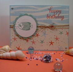 Seaside Shore from Stampin' Up!. Visit my website http://sddesigns.stampinup.net