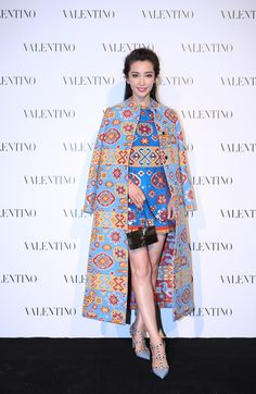 Li Bing Bing in a Valentino Spring 2016 total look at the Opening of our Shanghai IFC boutique on October 4th, 2015.