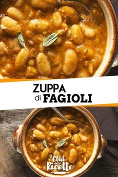Zuppa di fagioli.